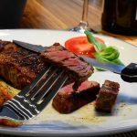 steak and steak knife